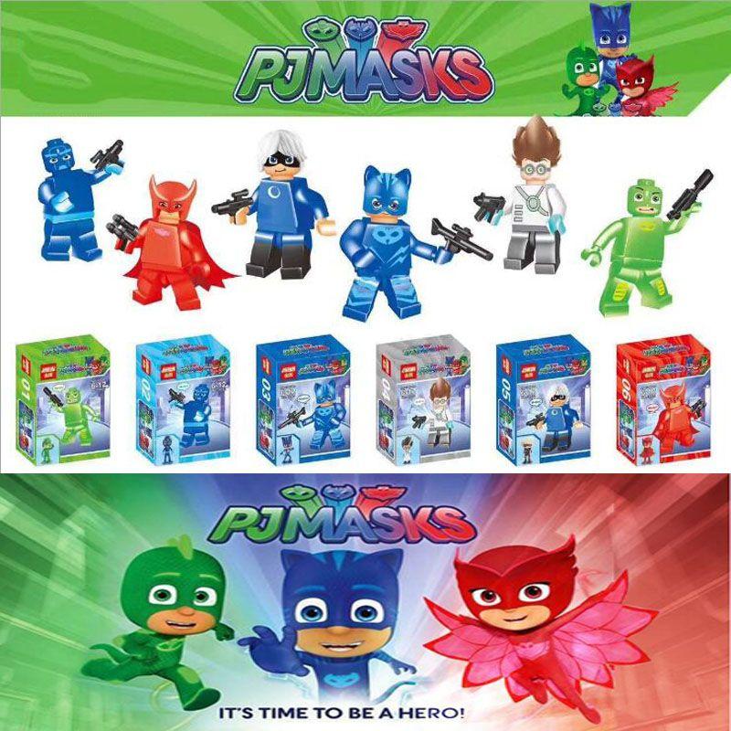 acheter set pj masques robots war building blocks sets mod le bricks jouets pour enfants. Black Bedroom Furniture Sets. Home Design Ideas