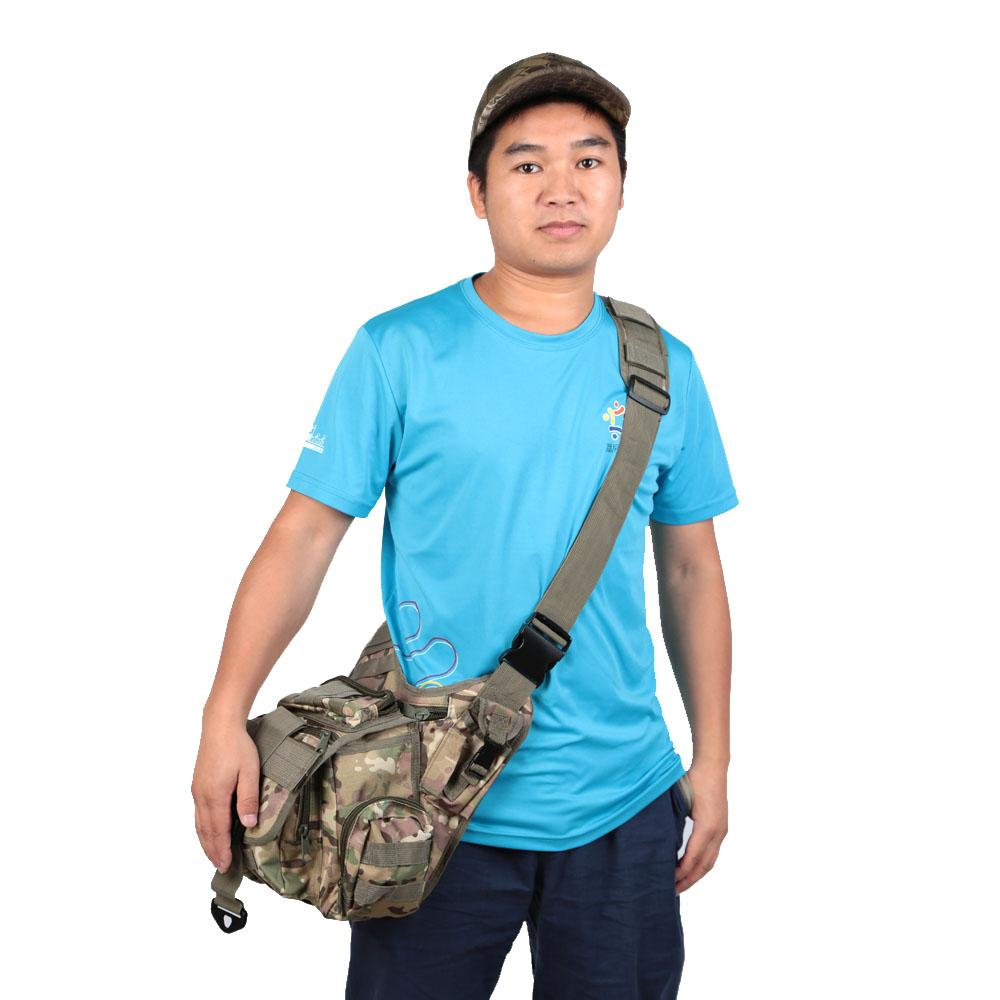 2016 New Large Sling Single Shoulder Bag Backpack Gear Pack Tactical One Strap Heavy Duty Sport Camera Chest Pack