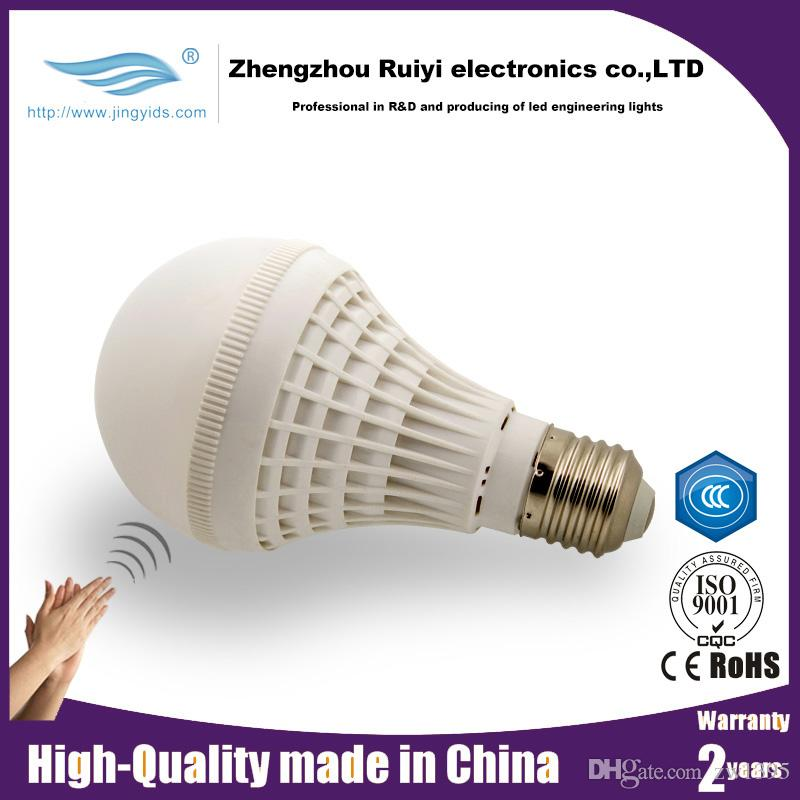 Modern Led Lights Led Bulbs Clapper Activated Switch Sound - Clap lights for bedroom