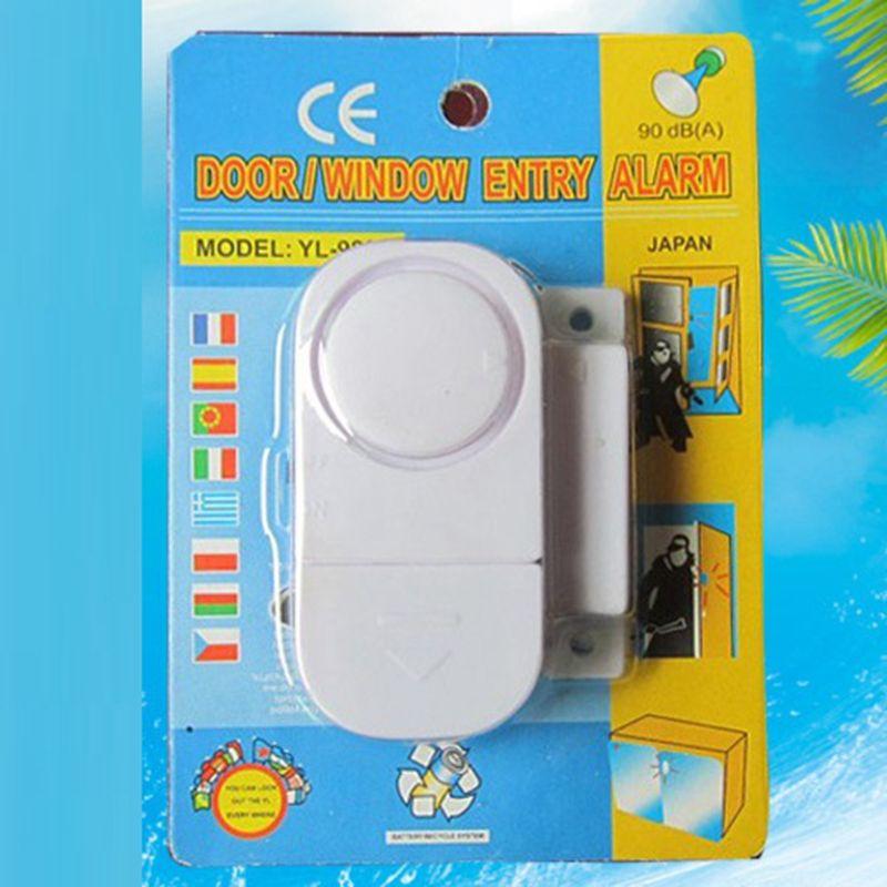Мини-охранная сигнализация дома окна и двери сигнализация магнитный датчик устройство Главная электронная собака дома жилье безопасно безопасность