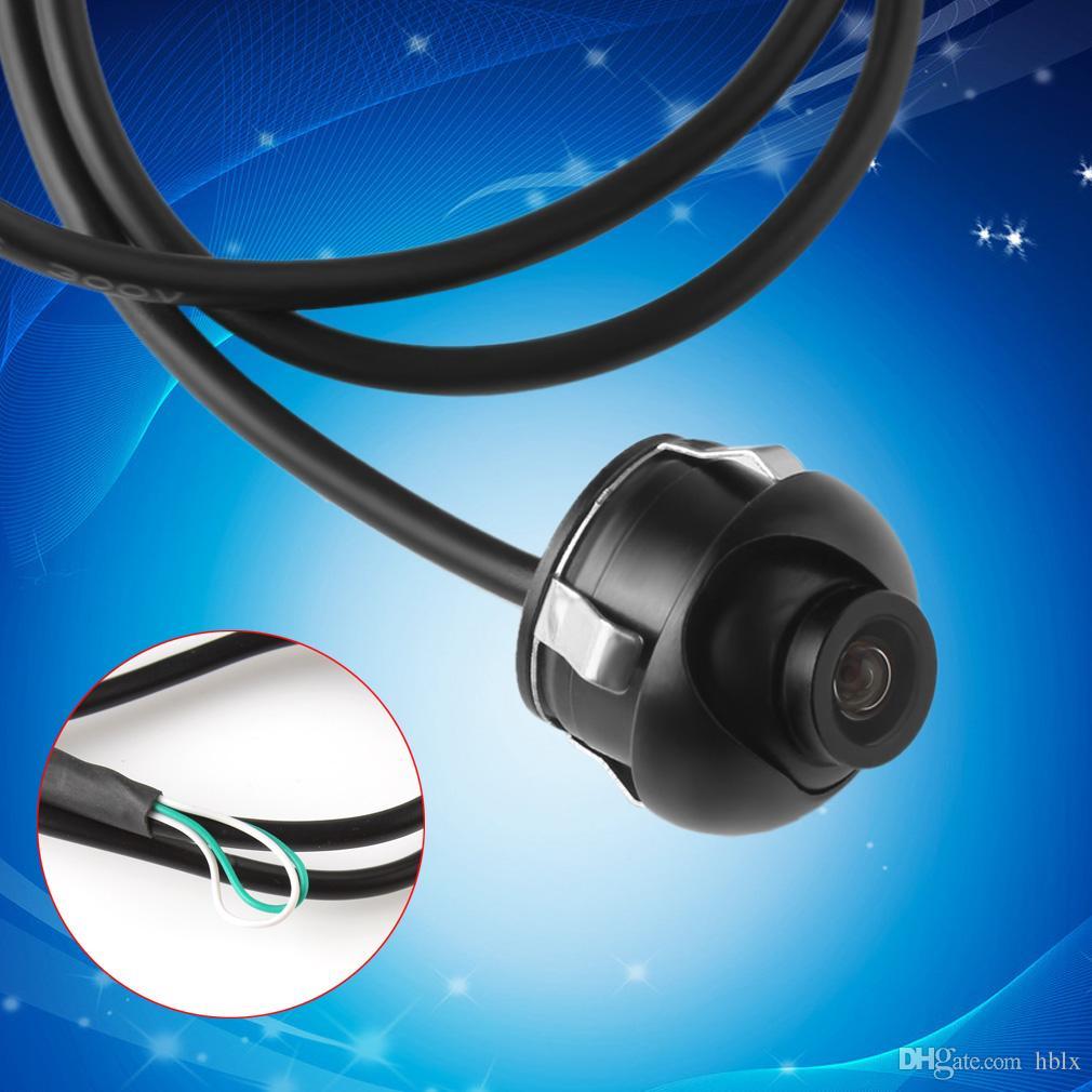Mini CCD Night Vision Telecamera posteriore a 360 gradi Vista frontale frontale Telecamera di backup con linee di conversione dell'immagine speculare CAL_00D