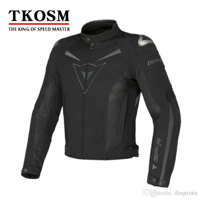 TKOSM Nova Chegada de Malha Jaqueta de Motoqueiro Homens Respirável Jaqueta de Corrida Roupas de Corrida Jaqueta de Roupas de Motocicleta dos homens