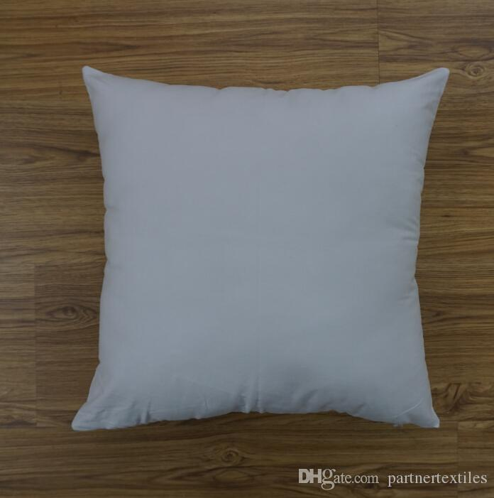 Diy Canvas Pillow Case: 18x18 Inches Plain Dyed White Pillow Case Blank 8oz Cotton Canvas    ,