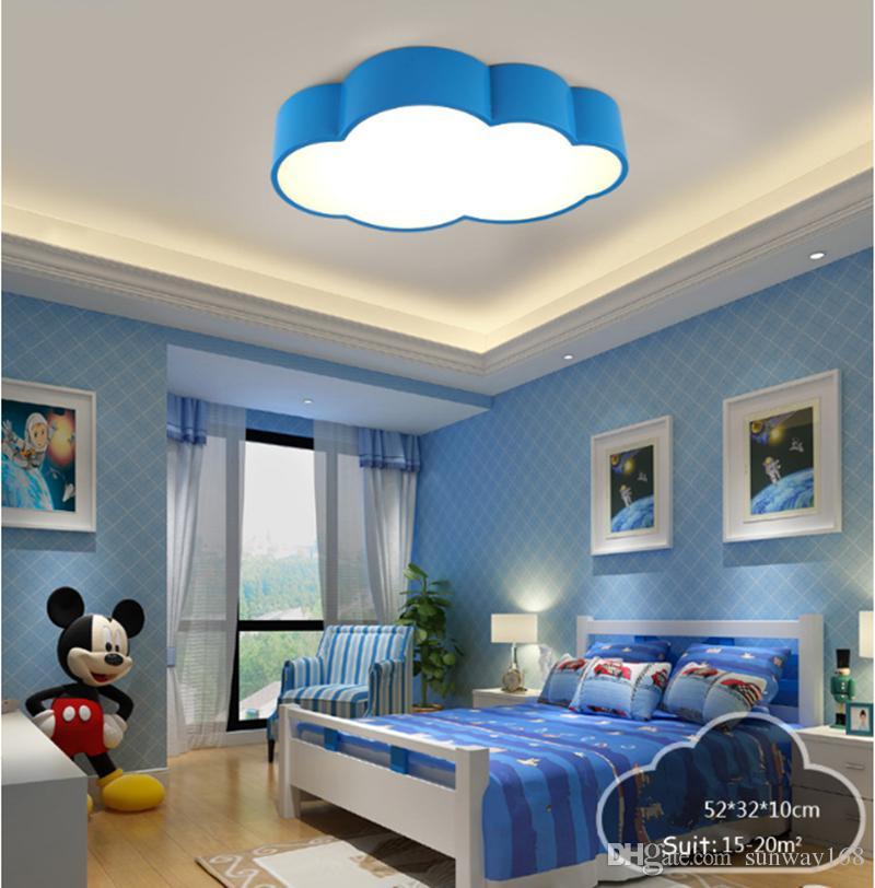 Bambini creativi illuminazione a LED bambini LED plafoniera baby plafoniera i scegliere ragazzi ragazze camera da letto