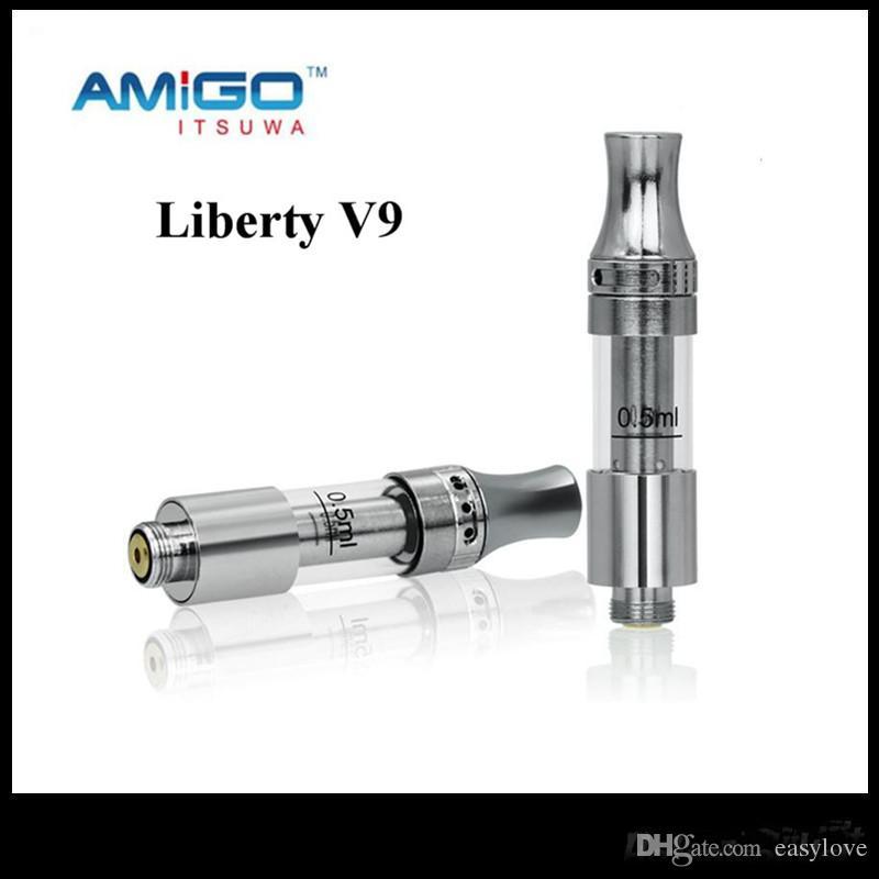 Oficial de venda Itsuwa AMIGO Liberdade Tanque cartuchos de cerâmica V1 V5 V9 Tcore X5 T6S T6P T6C vaporizador Para Max vmod C5 bateria 100% Original
