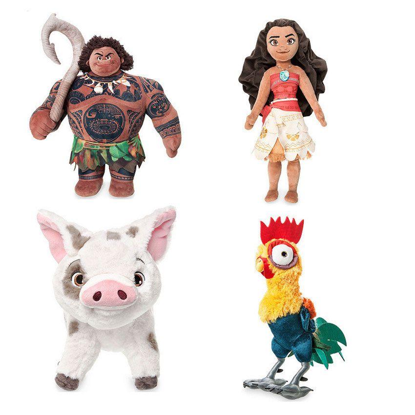 2019 2017 New Authentic Moana Maui Stuffed Plush Toy Doll