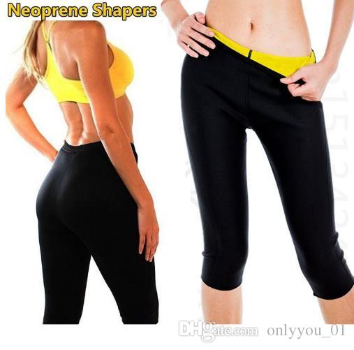 d15b7f44abffb Hot Body Shaper Neoprene Sauna Shapers Sweat Women Pants Slim ...