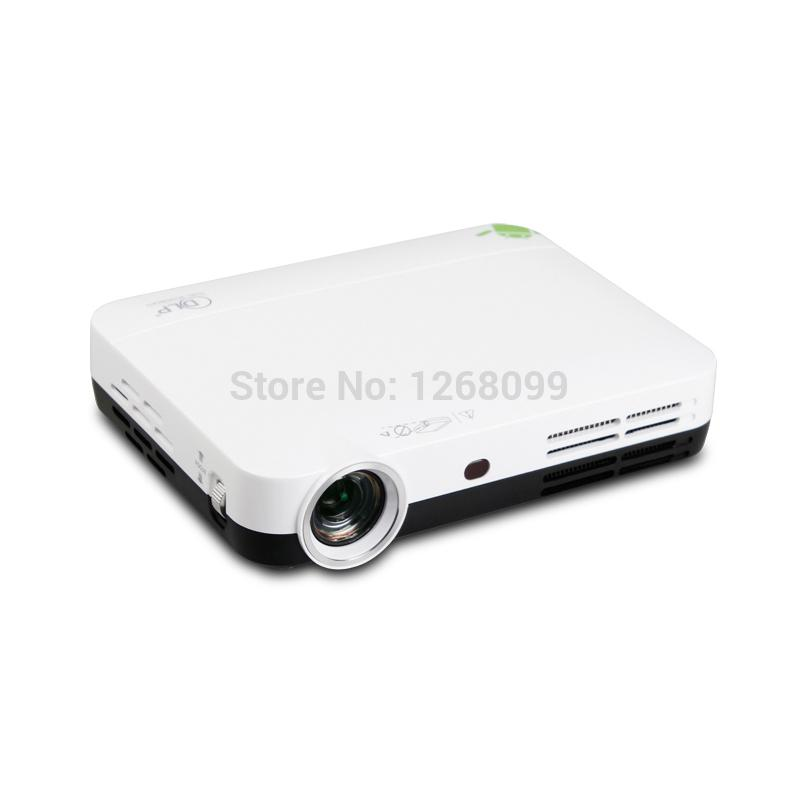 Wholesale- 2016 New DLP 5200 Lumens High Brightness WiFi Home Theater Multimedia Smart Projector Full HD 1080P LED Projector