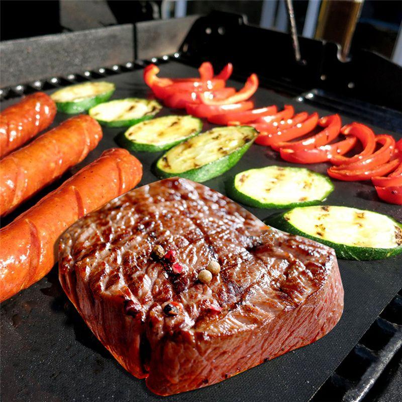 Vendita calda Camping Mat Barbecue rilievo Barbecue Mat Salute e alta sicurezza di temperatura Resistenza antiaderente all'ingrosso