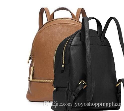Leather Backpack Designer Brand New 2017 Fashion Women Lady Black ...