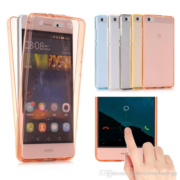 e2084e9032 For Galaxy Note 8 J3 J5 J7 Prime S8 Plus 360 Degree Full Protective TPU  Transparent Front And Back Cover Touch Case Cute Phone Cases Cheap Phone  Cases From ...