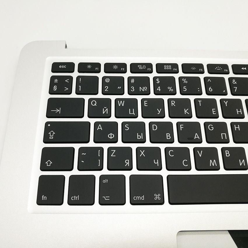 "New RU Russian keyboard for MacBook Air 13"" A1466 Topcase Top Case Palmrest Keyboard 2013 2014 2015 Years"