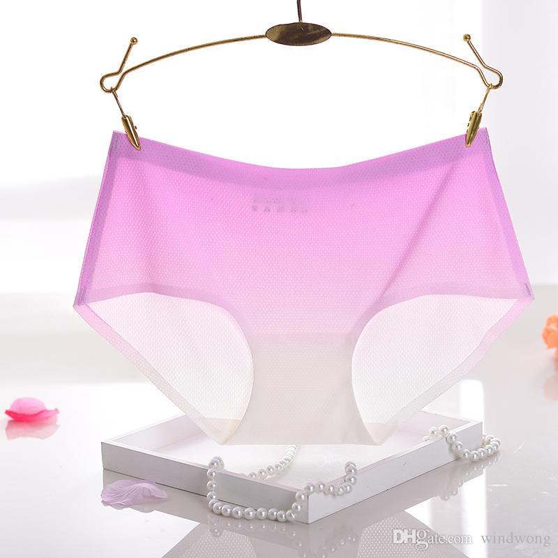 66Z Hot sale Original New Ultra-thin Women Seamless Traceless Sexy lingerie Underwear nylon Panties Briefs