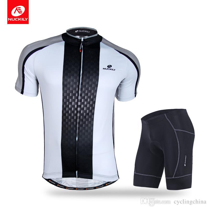 6a60b31ba94 NUCKILY Men S Summer Sportswear Clothing Professional Design Cycling Jersey  And Short Suit NJ504 NS361 Mountain Bike Pants Biking Pants From  Cyclingchina