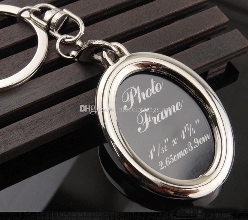 6 models photo frame keychain alloy locket picture key chain heart apple key rings heart Designs apple bag pendants fashion jewelry