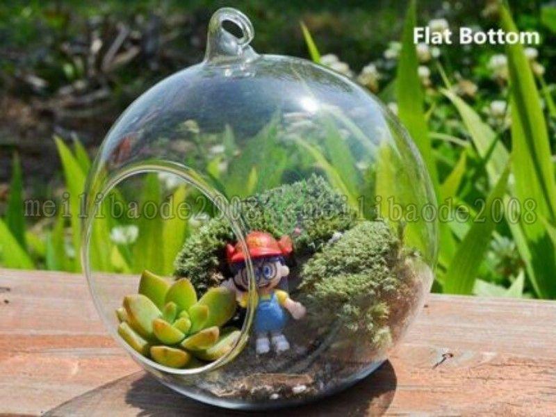 NEW Hanging Glass Ball Planter,Air Planter Terrarium Set Garden DecorFor Housewarming Gift Wedding or Home Decor candlestick MYY