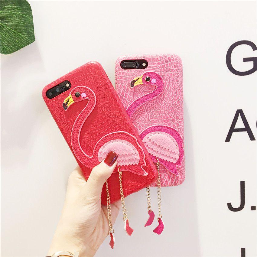 carcasa iphone 7 flamencos