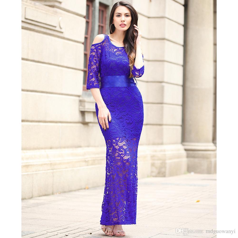 579985cc5de Plus Size The New Large-Size Women s Wear Summer Fashion Lace Brand ...