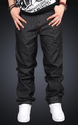 Compre Pantalones Rectos De Los Pantalones Vaqueros Del Hip Hop De La  Juventud Vendedores Calientes Pantalones Vaqueros Del Skateboarding De Los  Hombres No ... 37df4d64e6a