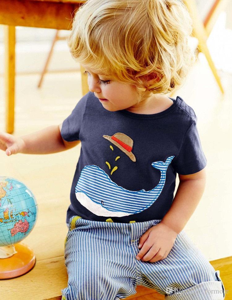 Bébé Boutique Vêtements Été Toddler Survêtement Enfants Enfants Vêtements Set Sport Suit Infant Sunsuit Bébé Outfit Cool Garçons Chemise Shorts