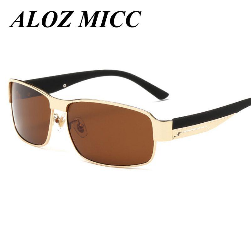 Polaroid Gafas Aloz La Oculos Sol Marca De Hombres Calidad Micc Diseñador Alta Polarizada Conducción RSj35Lqc4A