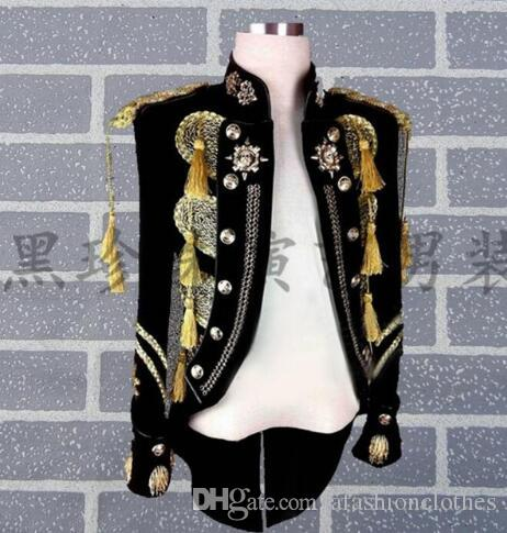 Rock men suits designs masculino homme terno stage costumes for singers men sequin blazer dance clothes jacket star style dress