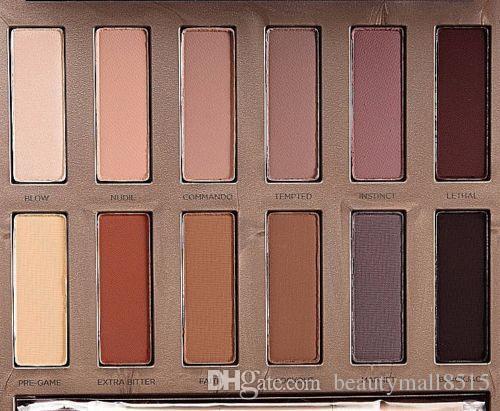 Горячие Продажа Рождество Eyeshadow Palette 12 Цвет Окончательный Основы Matte тени для век порошок Водонепроницаемая Smokey контура глаз Пигмент макияж Free Ship