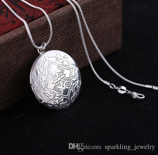 Wholesale vintage round medallion necklace photo locket pendant wholesale vintage round medallion necklace photo locket pendant necklace photo suspension with chain silver plated party women jewelry silver heart necklace aloadofball Choice Image
