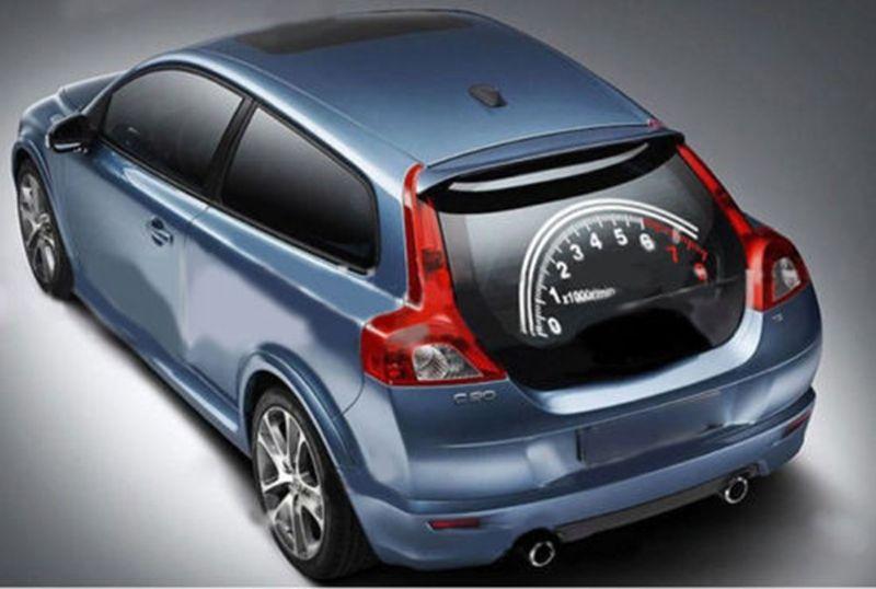 CarStyling Sticker Rear Window Reflective Speedometer Sticker - Car rear window stickers