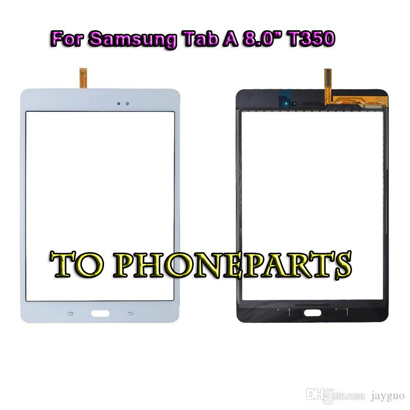 Black Samsung Galaxy Tab A 8.0 SM-T350 Touch Screen Digitizer Glass Replacement