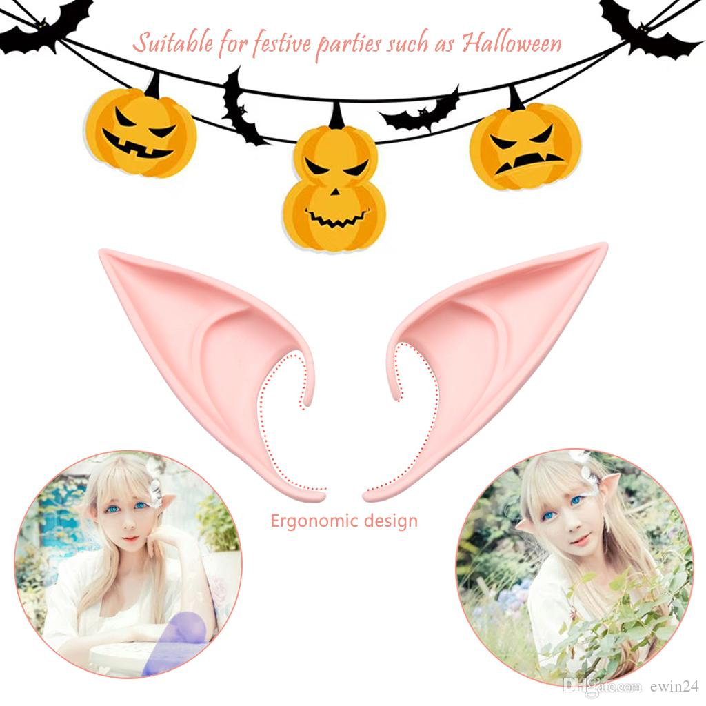 Elf Ears Fairy Pixie Ears Cosplay Accessories Zelda Ears For Party Cosplay ppl Material