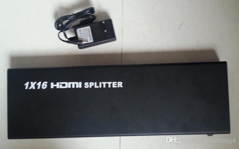 ibay-hs161, HDMI 1 * 16, Fornitura in fabbrica, splitter HDMI, 16 porte Splitter HDMI-, 1, ingresso porta, uscita 16 porte