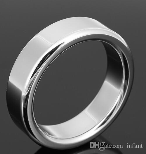 sex toys adultes pour hommes anneau de retard de sexe en acier inoxydable A024 6mm, anneau métallique JJ en métal, petit dispositif de chasteté masculine, ceinture de chasteté