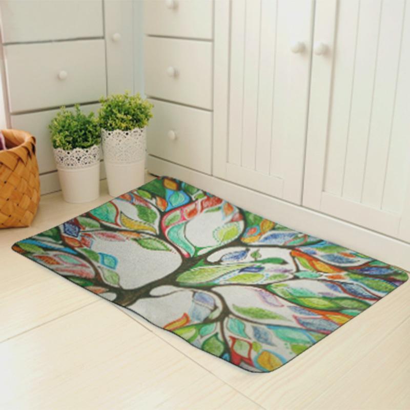 2019 Wholesale Fashion Bedroom Floor Mats Slip Resistant Entrance