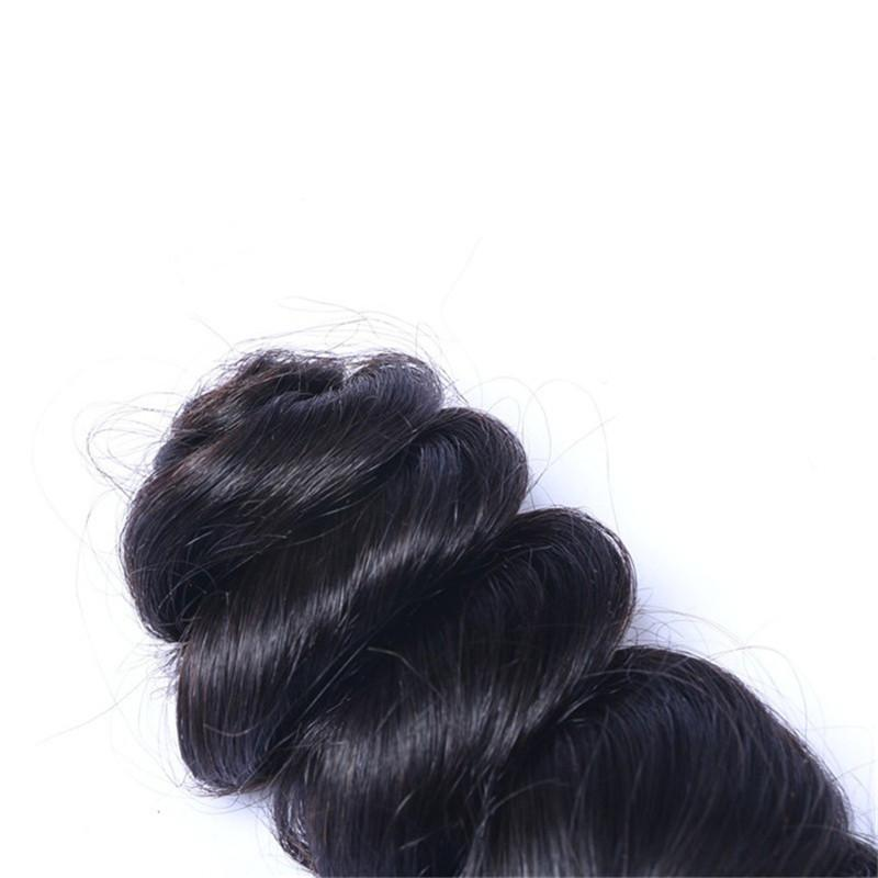 Perulu Saç Gevşek Dalga Örgü İnsan Saç Toplu Gevşek Kıvırcık Hiçbir Atkı Ham İnsan Örgü Doğal Saç