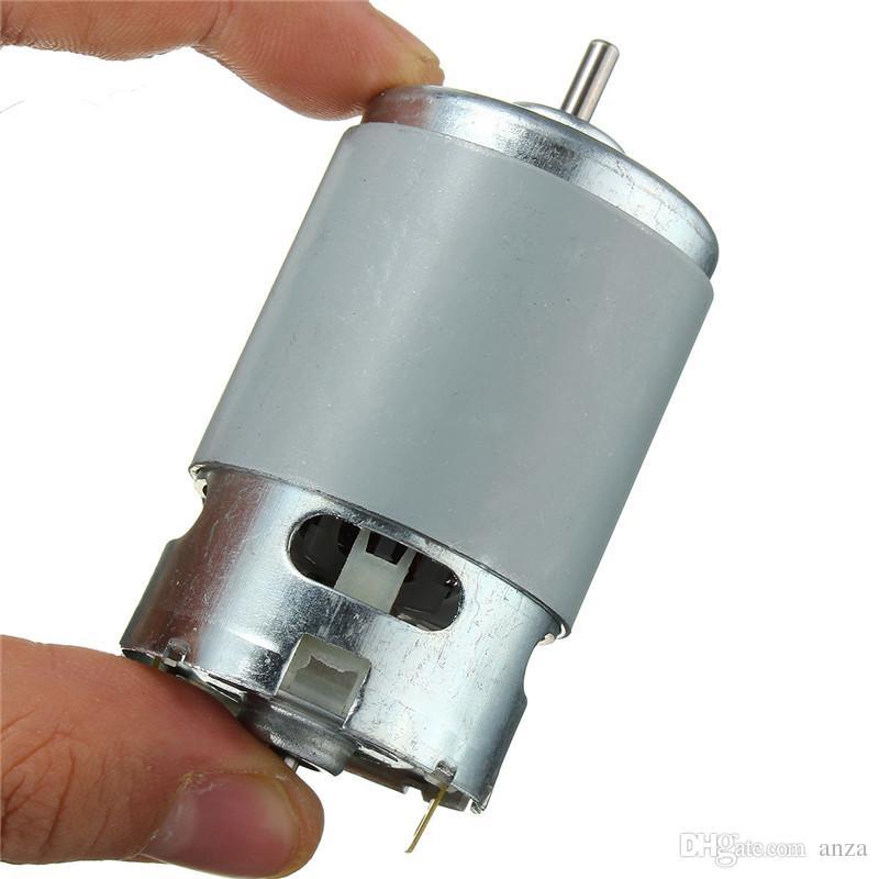 Maquinaria elétrica elétrica de alta velocidade da maquinaria 12V 775 da maquinaria elétrica do motor da CC do grande torque do motor 775