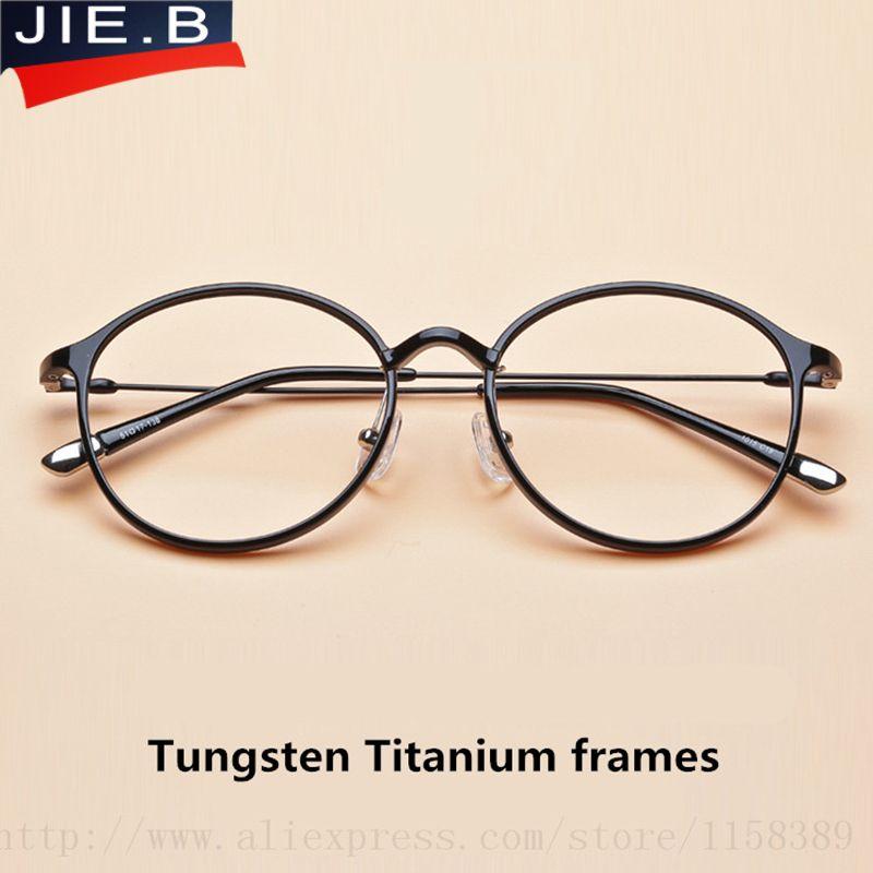 Großhandel Plastic Titan Brille Rahmen Frauen Klare Linse Vintage ...