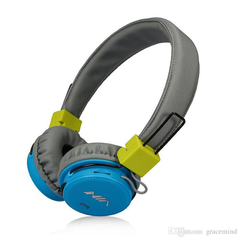 Cellulari Poco Prezzo NIA XP1 Stereo Bluetooth Supporto APP Cuffie Cuffie  Senza Fili Pieghevoli Di Trasporto Libero Di Trasporto Con La Carta Di TF  Di ... 4c96d73d1cae