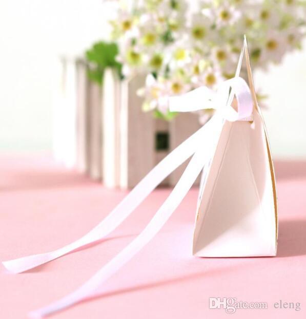 2017 NEUE Hochzeit pralinenschachtel Braut Bräutigam Hochzeit Braut Favor beste Geschenk-boxen 50 paare / 100 stücke Kleid Tuxedo TH2