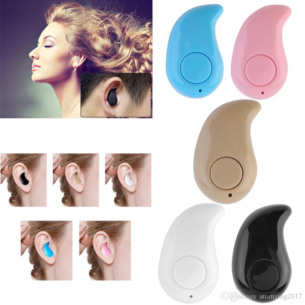 Universal Mini Wireless Bluetooth Headphone S530 In Ear V41 Stealth Headset S 530 Earphone Phone With Mic Handfree For Iphone Samsung