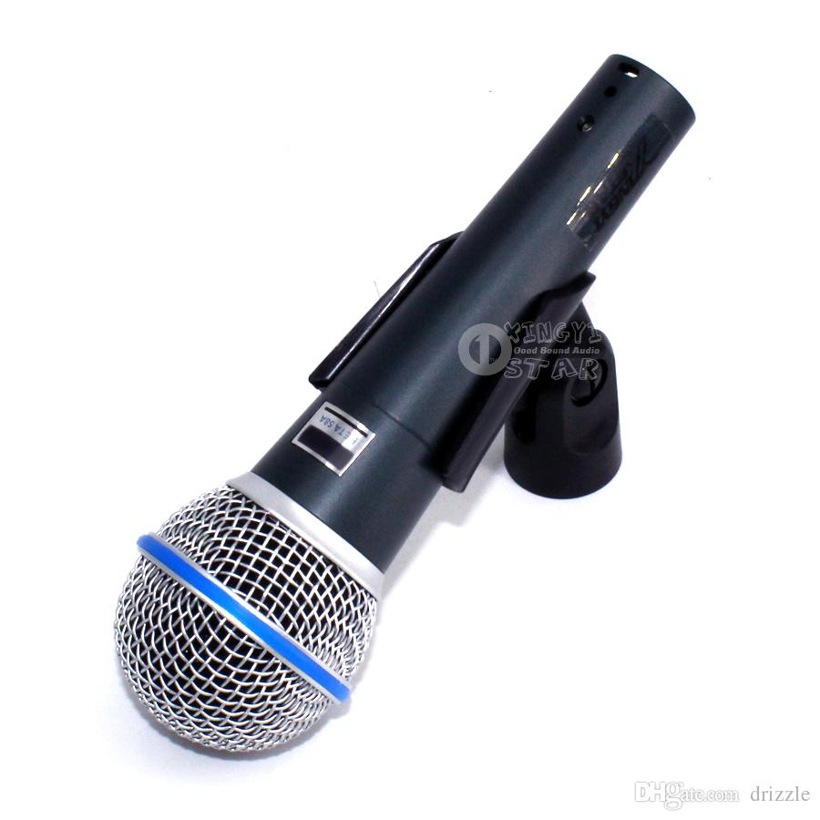 Super Microfono Vocal Microfone Dinâmico Vocal Microfono Com Fio Vocal Microfono Para Beta58A Cantar Karaoke Mixer Gravação De Áudio Vídeo PC Microfone