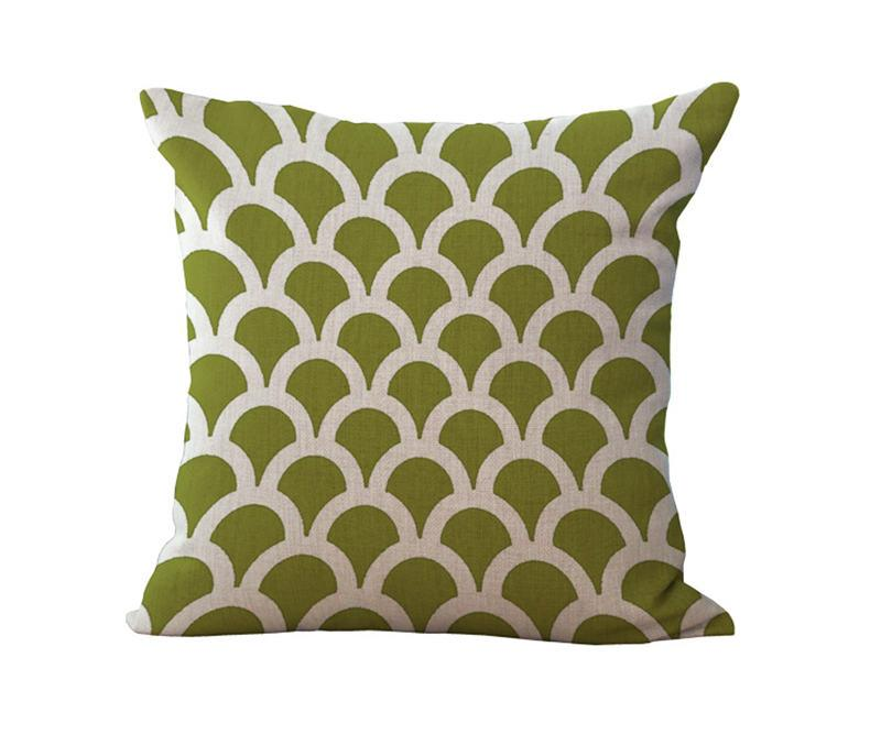Geometric Stripe Diamond Pillow Case Cushion cover Linen Cotton Throw Pillowcases sofa Bed Pillow covers Drop shipping