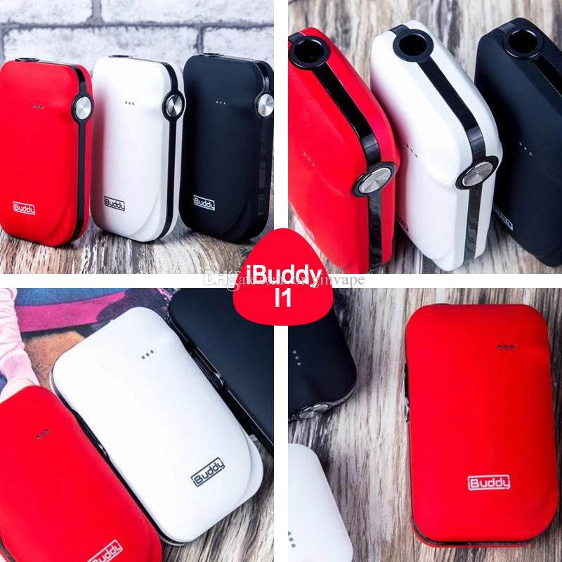 100% Authentic IBuddy I1 Heating Kit E-cig with First Pin-style cigarette electron kit Built in 1800mAh Battery with ABS+PC material