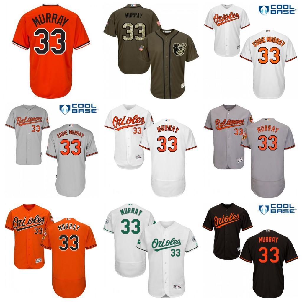 e8234060091 ... orange 2017 2017 Mens Baltimore Orioles Jerseys 33 Eddie Murray  Baseball Jerseys Vintage Flexbase Cool Base White ...