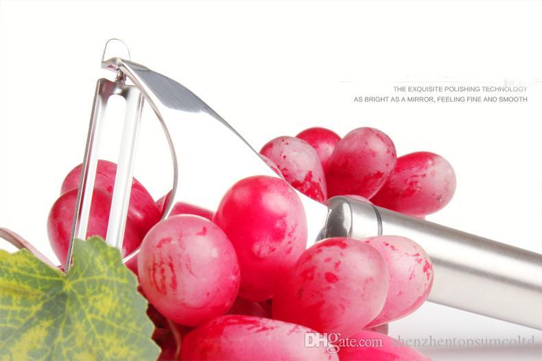 Rostfritt stål Frukt Vegetabilisk Potatis Peeler Matlagningsverktyg Köksartiklar