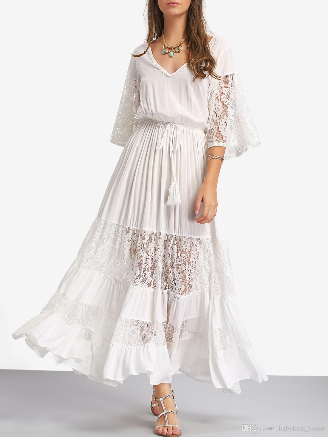 2018 new maternity dress for photo shooting neck white lace 2018 new maternity dress for photo shooting neck white lace chiifon dress baby photo graphy props short sleeve stretch pregnant dress from babykidshouse ombrellifo Choice Image