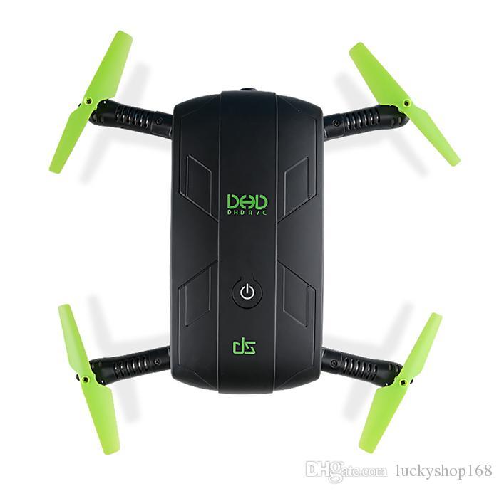 JJRC DHD D5 Selfie FPV Drone con videocamera HD Pieghevole RC Pocket Drones Elicottero di controllo del telefono Mini Dron VS JJRC H37 523 Quadcopter