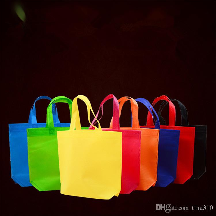 2019 Candy Color Plain Non Woven Bag Vertical Version Custom Tote Bags  Customized Recycled Reusable Shopping Bags IA578 From Tina310 3b0425b10a8ff