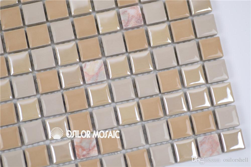 ceramic and marble mosaic tile for bathroom and kitchen decoration wall tile floor tile 4 square meters