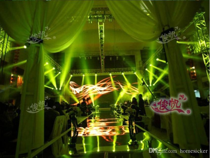 Matrimonio di lusso Centrotavola Aisle Runner Specchio tappeti colore stazione T Wedding Decoration Oro Argento viola Rose Red Disponibile